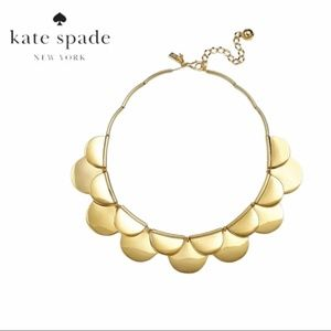 ♠️ kate spade | Sweetheart Scalloped Gold Necklace